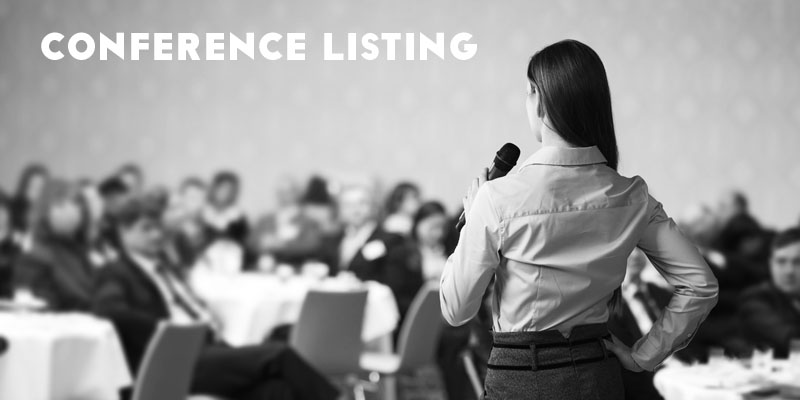 Reliable Conference Listing Website